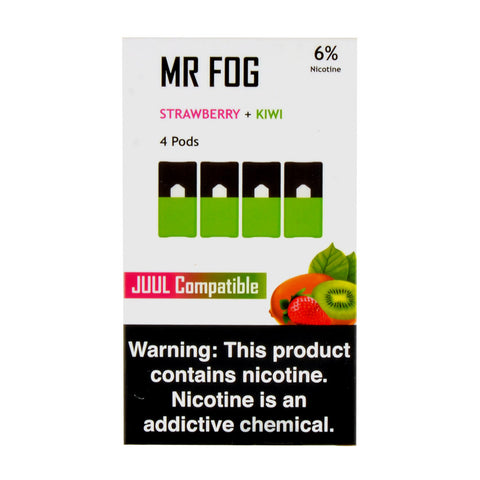 Mr Fog Strawberry + Kiwi 4 Pods