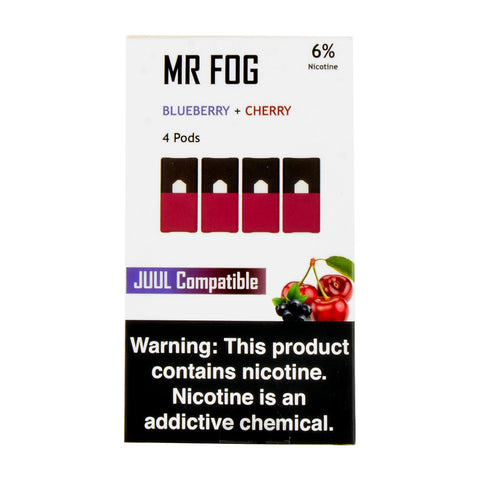 Mr Fog Blueberry + Cherry Pods