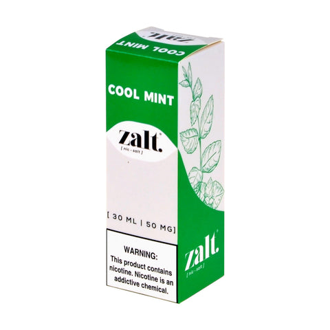 Zalt Cool Mint Salt eLiquid
