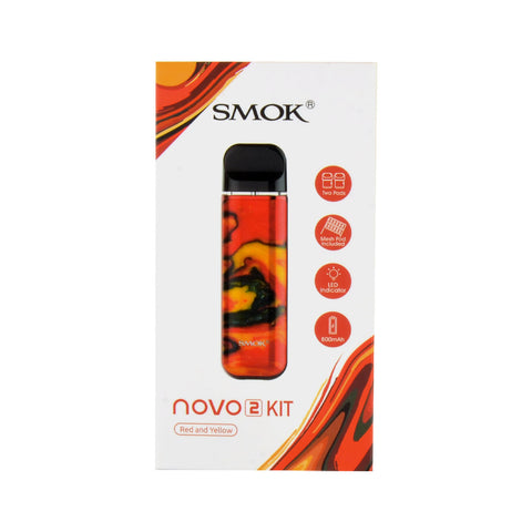 Smok Novo 2 Red and Yellow Kit