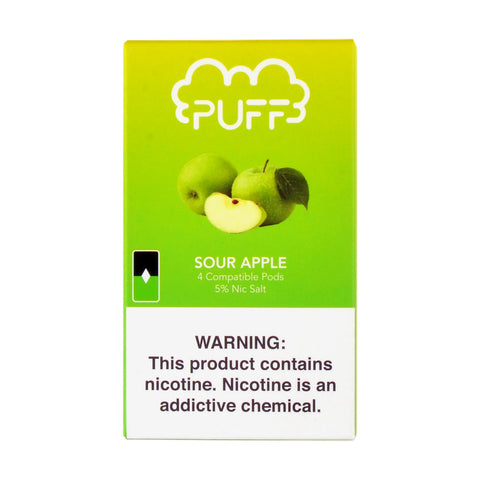 Puff Sour Apple 4 Pods