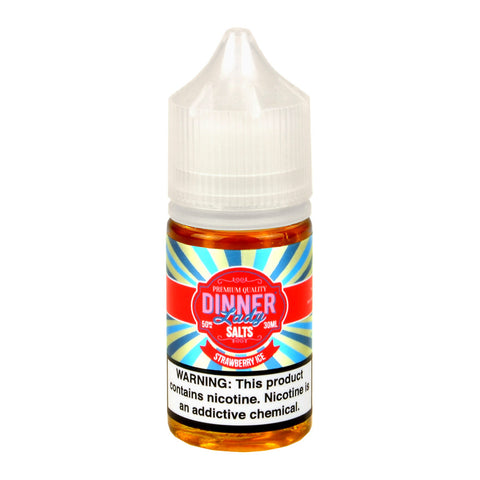 Dinner Lady Strawberry Ice Nicotine Salt E-Liquid