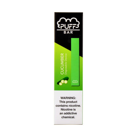Puff Bar Cucumber Disposable Device