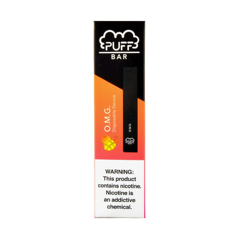 Puff Bar O.M.G. Disposable Device