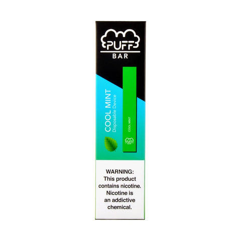 Puff Bar Cool Mint Disposable Device