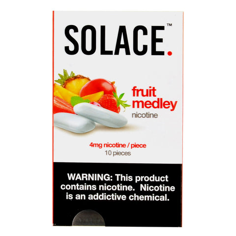 Solace Fruit Medley Nicotine Gum