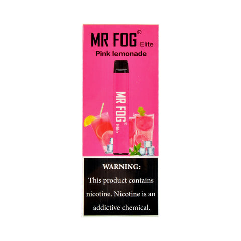 Mr Fog Elite Pink Lemonade Disposable Pen