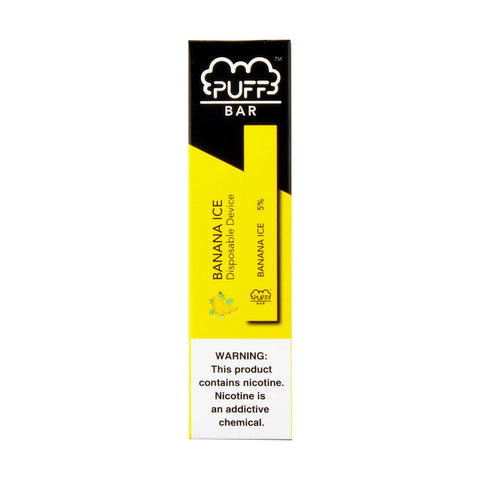 Puff Bar Banana Ice Disposable Device