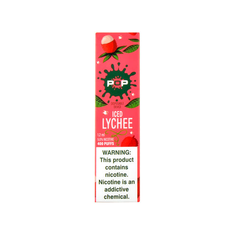 POP Disposable Vape Iced Lychee
