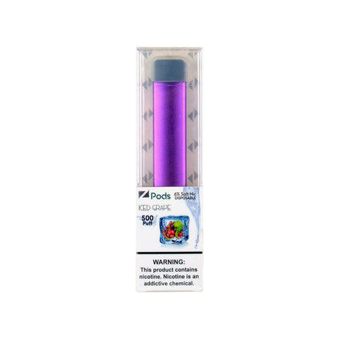 Ziip ZStick Iced Grape Disposable