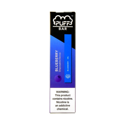 Puff Bar Blueberry Disposable Device