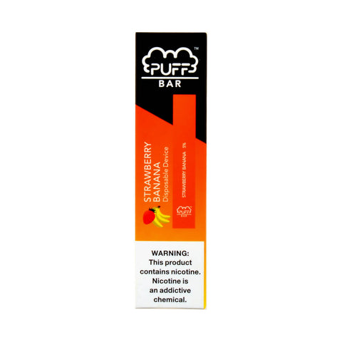Puff Bar Strawberry Banana Disposable Device