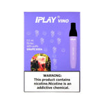 IPLAY Vino Disposable Vape Device Grape Soda