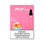 IPLAY Vino Disposable Vape Device Peach Ice