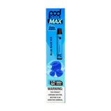 PodStick Max Disposable Vape Pen Blue Razz Ice