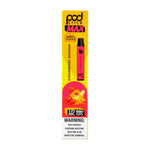 PodStick Max Disposable Vape Pen Strawberry Banana