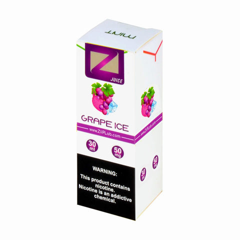 Ziip Grape Ice Nicotine Salt E-Liquid