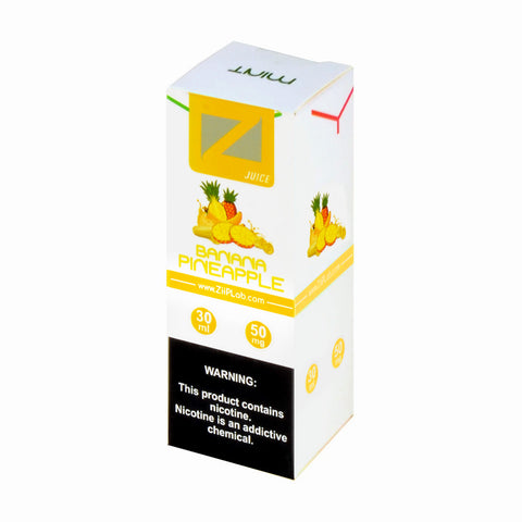 Ziip Banana Pineapple Nicotine Salt E-Liquid