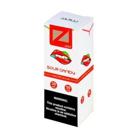 Ziip Sour Candy Nicotine Salt E-Liquid