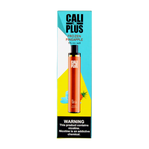 Cali Plus Disposable Vape Frozen Pineapple