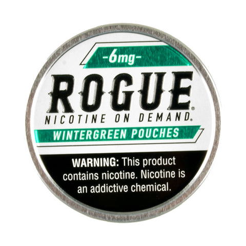 Rogue Nicotine Pouches Wintergreen