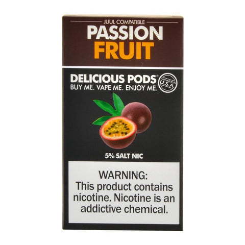Delicious Pods - Delicious Pods Passion Fruit Pack of 4 - Drops of Vapor