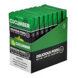 Delicious Pods - Delicious Pods Cucumber Pack of 4 - Drops of Vapor