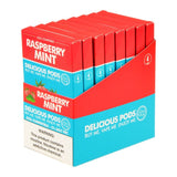 Delicious Pods - Delicious Pods Raspberry Mint Pack of 4 - Drops of Vapor