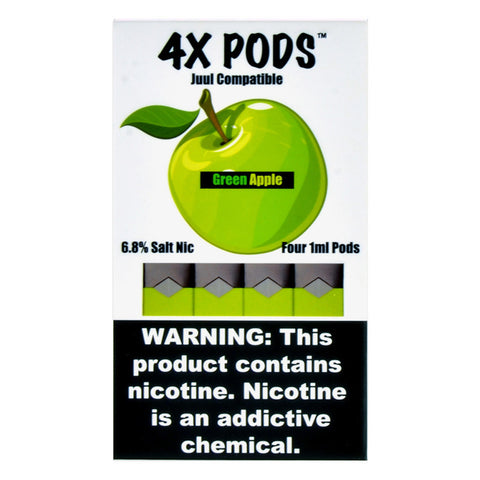 4X Green Apple 4 Pods