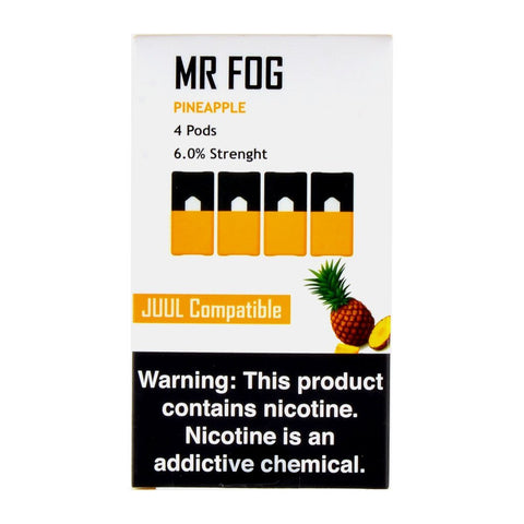 Mr Fog - Mr Fog Pineapple 4 Pods