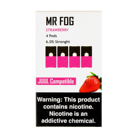 Mr Fog - Mr Fog Strawberry 4 Pods