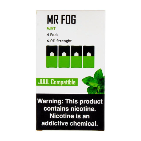 Mr Fog - Mr Fog Mint 4 Pods