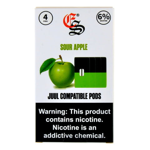 Eonsmoke Sour Apple 4 Pods