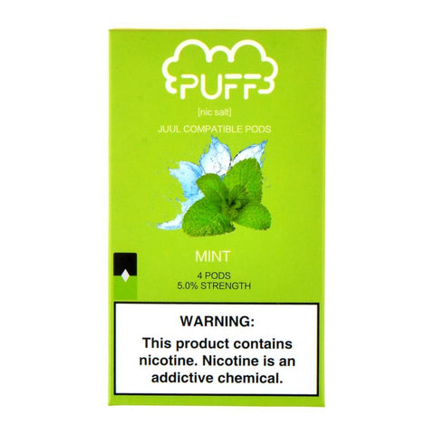 Puff Mint 4 Pods