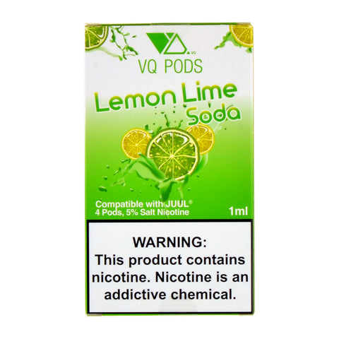 VQ PODS Lemon Lime Soda 4 Pods