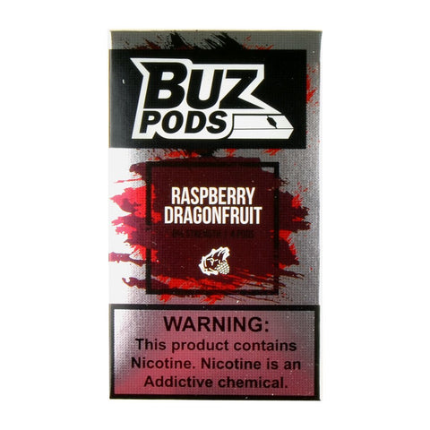 Buz Raspberry Dragonfruit 4 Pods