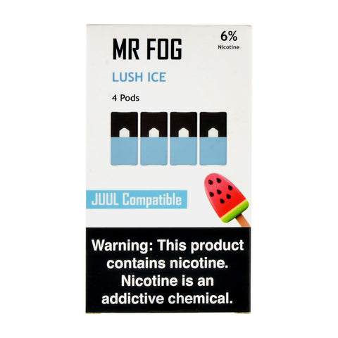 Mr Fog Lush Ice 4 Pods