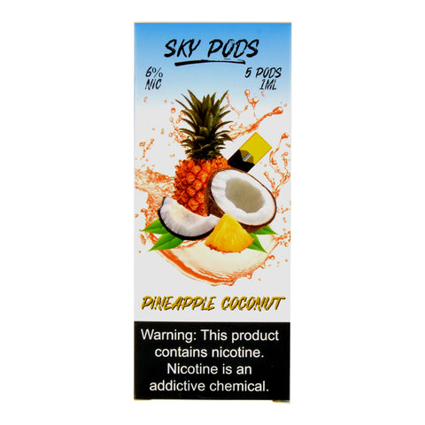 Sky Pods Pineapple Coconut Pack of 5