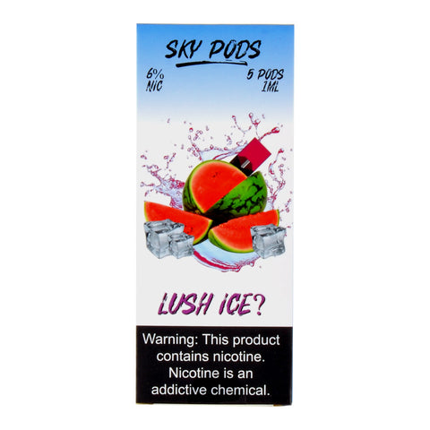 Sky Pods Lush Ice Pack of 5