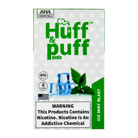 Huff & Puff Ice Mint Blast 4 Pods