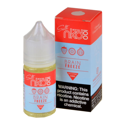 NKD100 Salt Brain Freeze/Strawberry Pom e-Liquid