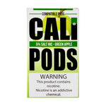 Cali Pods Green Apple 4 Pods
