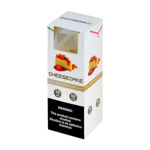 Ziip Cheesecake Nicotine Salt E-Liquid