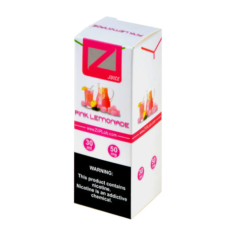 Ziip Pink Lemonade Nicotine Salt E-Liquid