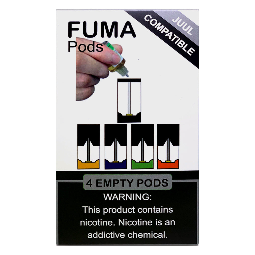 Fuma Empty Refillable Pods Pack of 4