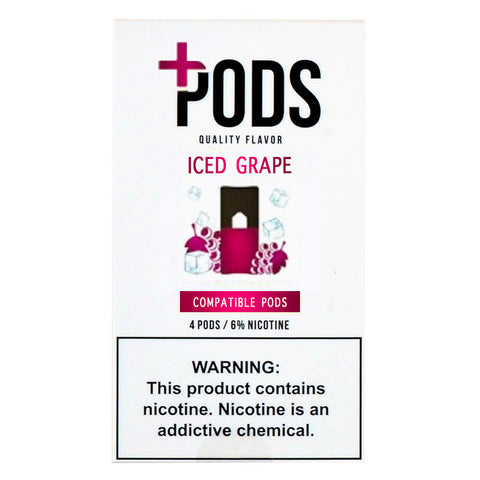 Plus Pods Iced Grape Capsules for Juul