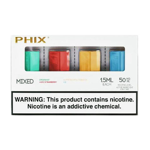 Phix Assorted Mix 4 Pods