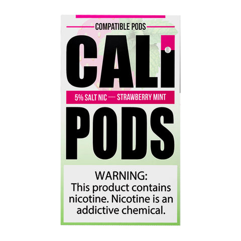 Cali Pods Strawberry Mint 4 Pods