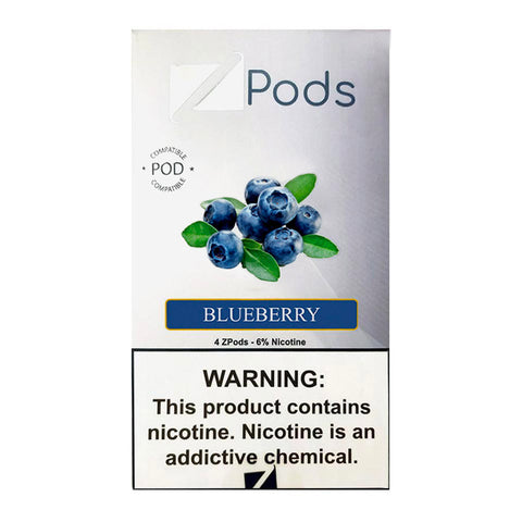 Ziip Blueberry 4 Pods