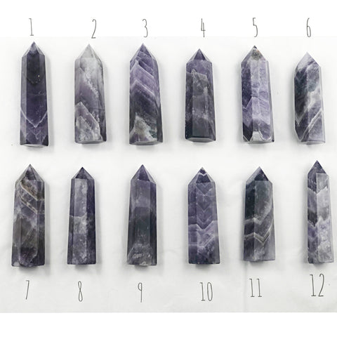 Amethyst Tower | Dinsmore Originals - metaphysical jewelry, spiritual cleansing supplies, genuine healing crystals